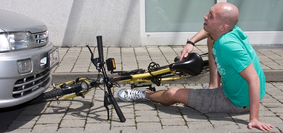 Report a cycling accident