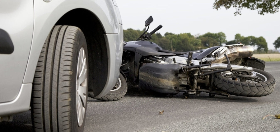 Report a motorbike accident